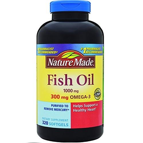 Nature Made 莱萃美 Omega-3鱼油1000mg