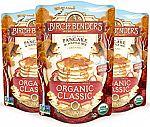 3-Pk 16-oz Birch Benders Organic Classic Pancake & Waffle Mix