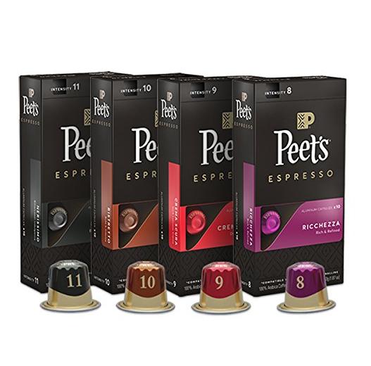 Peet's Coffee 4口味混合装浓缩咖啡 K-cup 40枚装