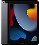 "2021 Apple 10.2"" iPad (Wi-Fi + Cellular, 256GB) - Gray"