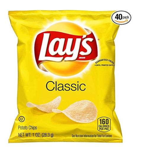 Lay's 乐事 经典原味薯片,40包