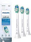 3-Pk Philips Sonicare HX9023/65 Genuine C2 Toothbrush Heads
