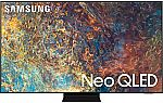 "Samsung 85"" Q90A TV + Galaxy Buds Live"