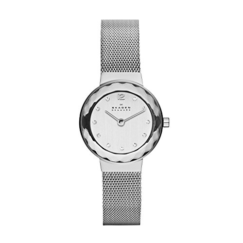 Skagen Women's Leonora Quartz Analog Stainless Steel and Watch, Color: Silver (Model: 456SSS), List Price is