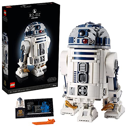 2021年款!LEGO 乐高 Star Wars 星球大战系列 75308 R2-D2机器人