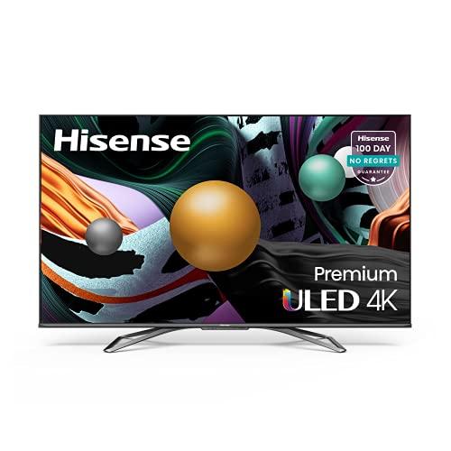 Hisense ULED Premium 55-Inch Class U8G Quantum Series Android 4K Smart TV with Alexa Compatibility (55U8G, 2021 Model), List Price is