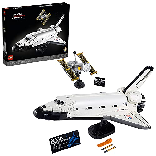 LEGO NASA Space Shuttle Discovery 10283 Build and Display Model for Adults, New 2021 (2,354 Pieces), Now