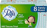24-Pk Puffs Plus Lotion Facial Tissues