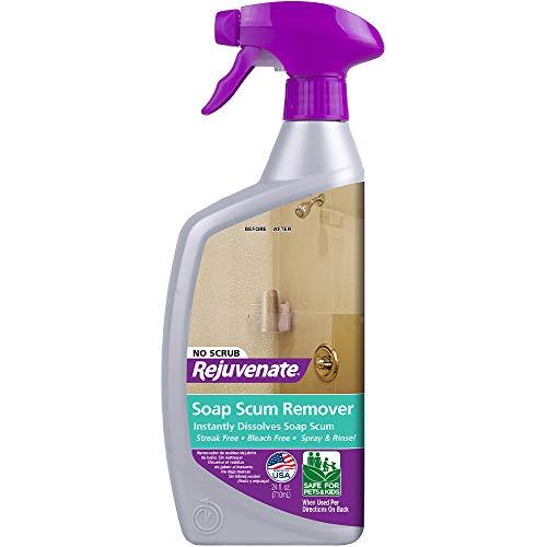 Rejuvenate 浴室玻璃专用清洁剂,24 oz