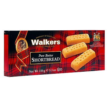 Walkers Shortbread 苏格兰 手指黄油饼,5.3 oz