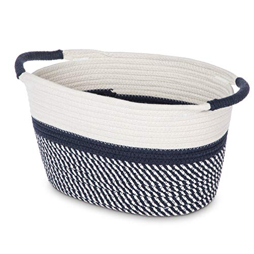 Home Zone Living Woven Basket for Home Storage