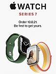 (Start 10/8): Apple Watch Series 7 Pre-Order