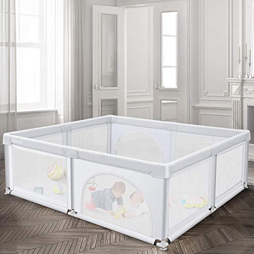 Baby Playpen for Toddler, Yacul Extra Large Baby Playard