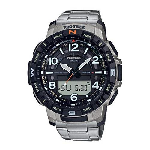 Casio PRT-B50T-7CR 户外运动男表蓝牙智能手表