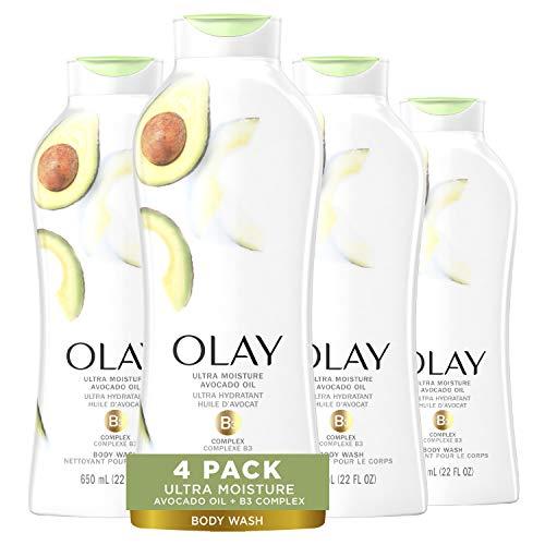 Olay 玉兰油超滋润 沐浴露,22 oz/瓶,共4瓶