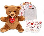 "Trudi Love Box, 6.3"" Bear Plush gift set"