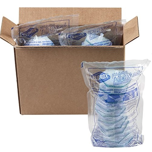 Clorox ToiletWand Disposable Toilet Cleaning Rainforest Rush Refill
