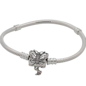 Pandora Women's Decorative Butterfly Bracelet – 19cm