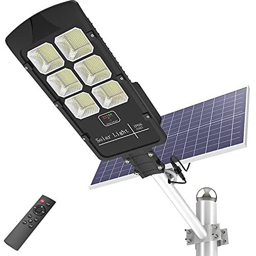 400W Solar Street Flood Light Outdoor Motion Sensor