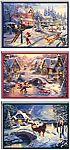 24 Hallmark Thomas Kinkade Boxed Christmas Cards Assortment