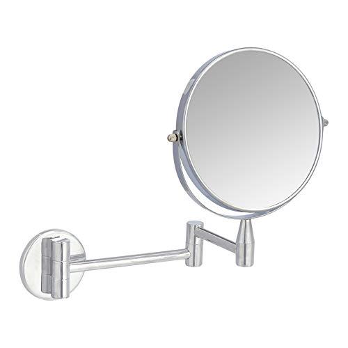 Amazon Basics  5倍放大双面壁挂式化妆镜