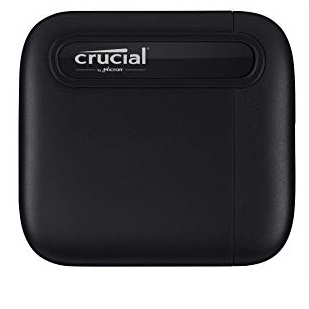 Crucial X6 1TB Portable SSD – Up to 540MB/s – USB 3.2 – External Solid State Drive, USB-C - CT1000X6SSD9, List Price is