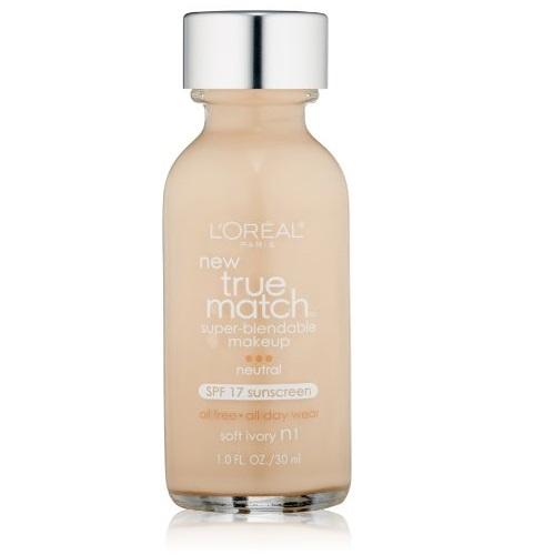 L'Oreal Paris Makeup True Match Super-Blendable Foundation