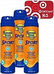 3-Ct 1.8-Oz Banana Boat 30 SPF Sunscreen Spray