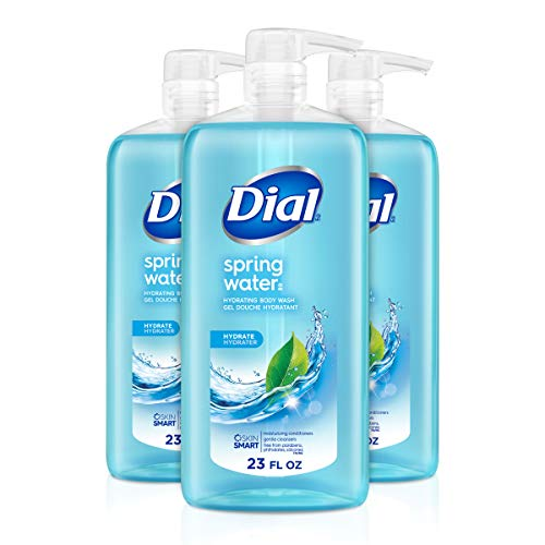 Dial Body Wash, Spring Water, 23 fl Oz (Pack Of 3)