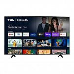 """TCL 55"""" 55S434 4-Series 4K UHD HDR Smart Android TV"""