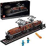 LEGO Crocodile Locomotive 10277 Train Building Kit (1,271 piece)