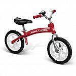 Radio Flyer Kids' All-Terrain Balance Bike (red or pink)
