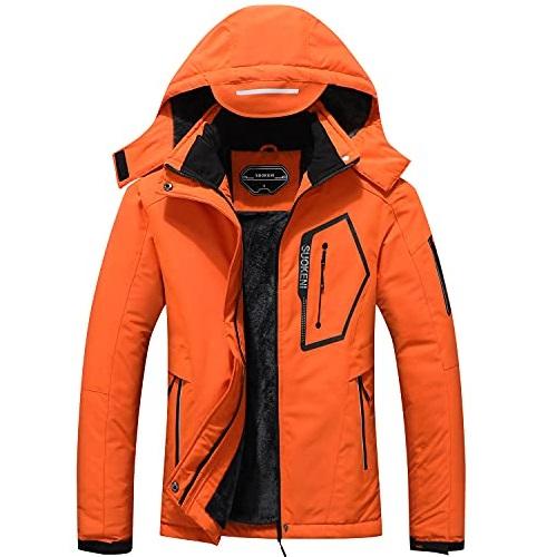 SUOKENI  Women's Waterproof Ski Jacket Warm Winter Snow Coat